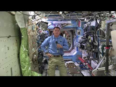 Space Station Astronaut Discusses Life in Space with Colorado Students