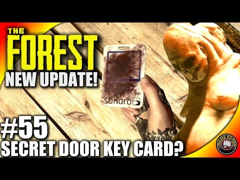 The Forest Gameplay - NEW UPDATE! V0.39 Door Key Card!