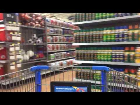 A quick tour through Walmart Supercenter in Kissimmee