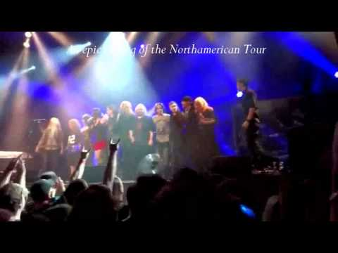 Nightwish & Floor Jansen - Best Moments from All Concerts - Tribute Video