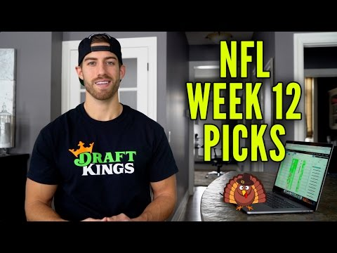 DraftKings NFL Week 12 Thanksgiving Day Picks