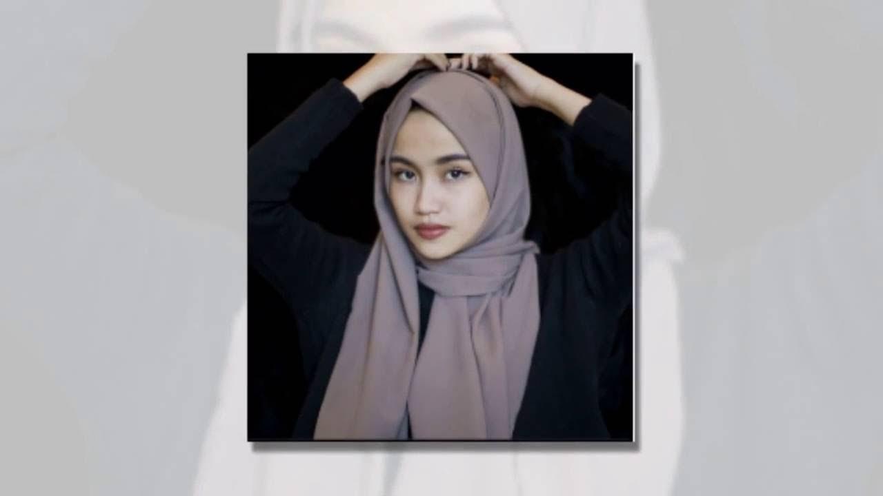 20 Foto Tutorial Hijab Ala Rina Nose Tahun 2017 Tutorial Hijab