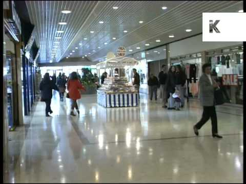 1990s Dartford Shopping Centre, Archive Footage