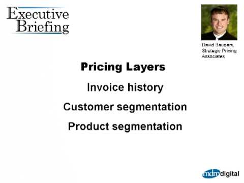 Strategic Pricing for Distributors: David Bauders