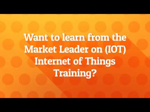 Best Internet of Things Training in Bangalore   www.mytectra.com