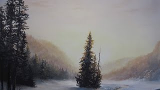 Paint with Kevin Hill - Solitary Pine