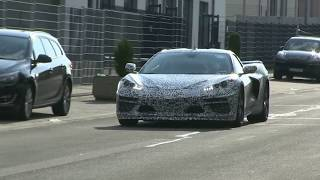 NEW 2020 Corvette C8 Footage