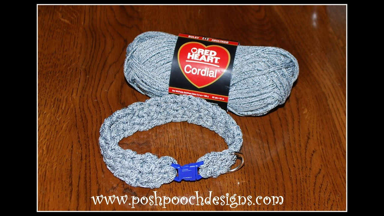 How to knit leashes 26