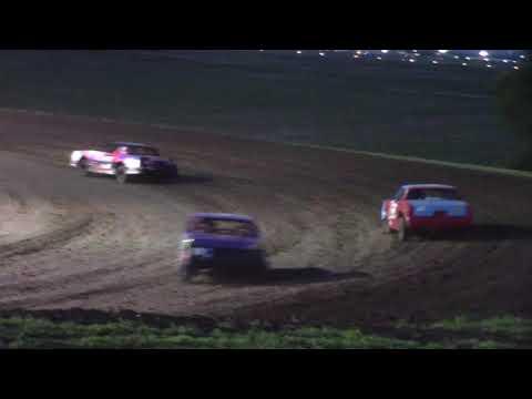 Salina Speedway Busch Light IMCA Hobby Stock 7-12-19 (Heat & Feature)