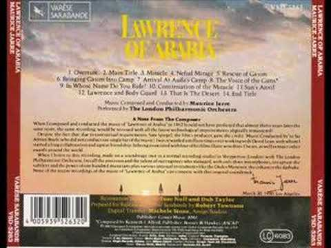 Lawrence of Arabia(1962) - End Title Music