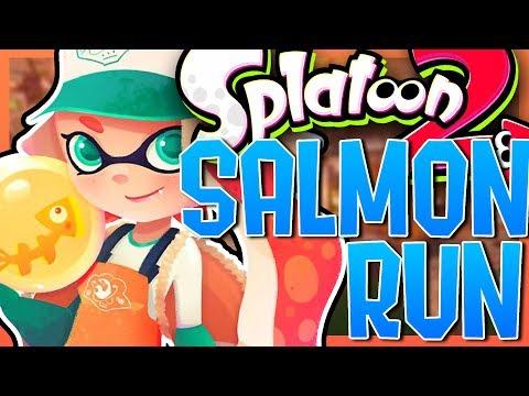 Splatoon 2: Salmon Run (Funny Moments)