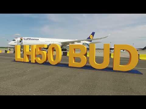 Lufthansa 50th Anniversary - Budapest Airport
