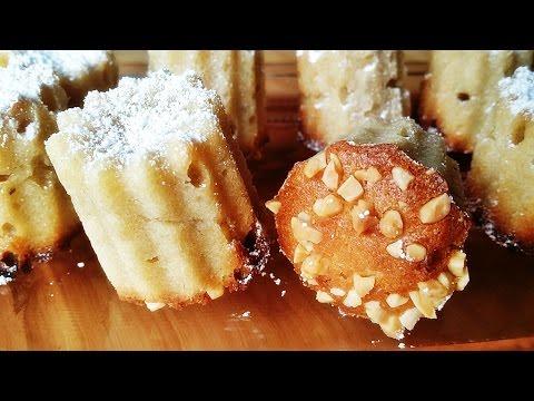 Rezept: Marzipan-Mini-Kuchen / Mini Gugelhupf Mit Marzipan Und Mandeln