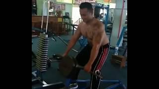 Om Straight Badannya Keren Begini Resep Fitness Nya