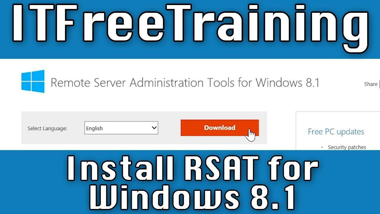 windows 8.1 admin tools