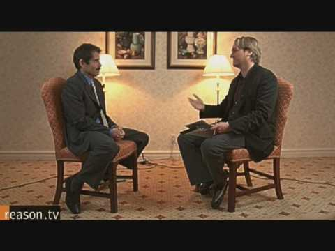 John Stossel interview with Reason Magazine Part 1 of 2.