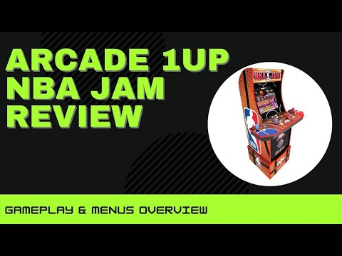Arcade 1Up NBA Jam Review - I found a glitch! (Gameplay & Menus) from Rob Young