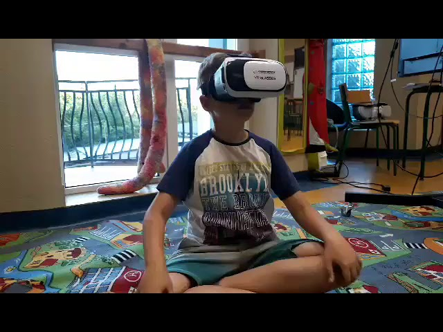 Okulary VR na angielskim