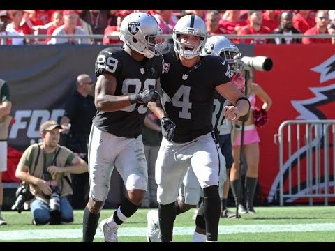 Week 8: Oakland Raiders beat Tampa Bay Buccaneers 30-24 in OT! Derek Carr Game-Winning Drive!