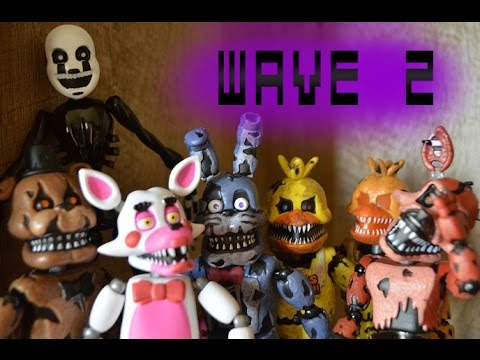 FNaF Collectable Funko Action Figure Review - Wave 2