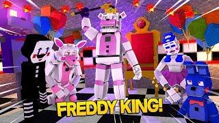 Minecraft Fnaf: Sister Location - King Freddy (Minecraft Roleplay)