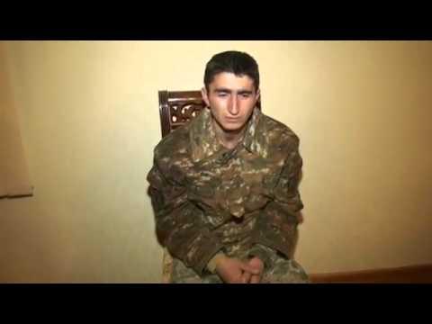 Допрос у армянского солдата (22.03.2015)