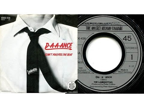 The Lambrettas - Da-a-a-nce  (Lyrics/Slideshow)