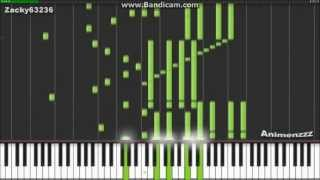 My Dearest [ Full ver ] - Guilty Crown OP - Synthesia (Piano) (Animenzzz)