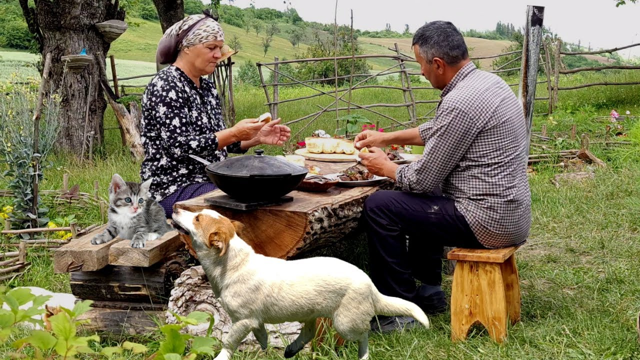 Cooking the Most Popular Lamb Liver Dish in Our Village