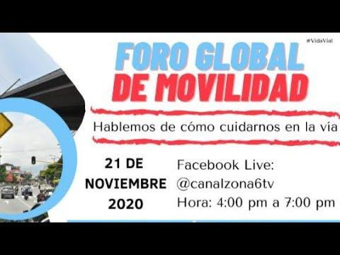 Este sábado se vivió el Foro Global de Movilidad en Medellín