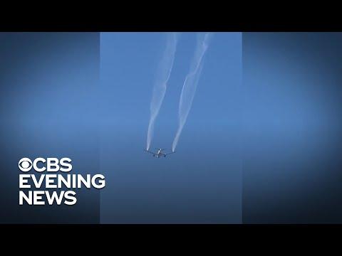 Flight dumps jet fuel over school playground