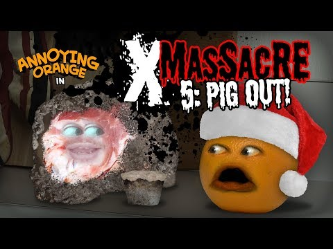 Annoying Orange - X-Massacre #5: Pig Out!