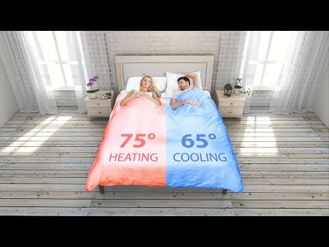 Smartduvet: The new Dual-Zone Climate Control Self-Making Bed