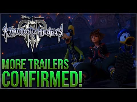 Kingdom Hearts 3 - Nomura Confirms One More Trailer This Month and Multiple Next Month!