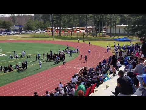Kirk Butler Druid Hills Middle school 400m 55s