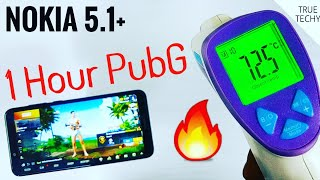 Nokia 5.1 Plus Gaming Review,Hour PubG Game PlayBack Review,Nokia X5 HD Graphics Gaming
