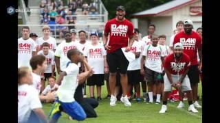 Dallas Cowboys Dak Prescott puts on football camp at his old high school in Haughton, Louisiana