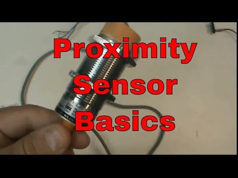 Proximity Sensor Basics (PNP, capacitive)