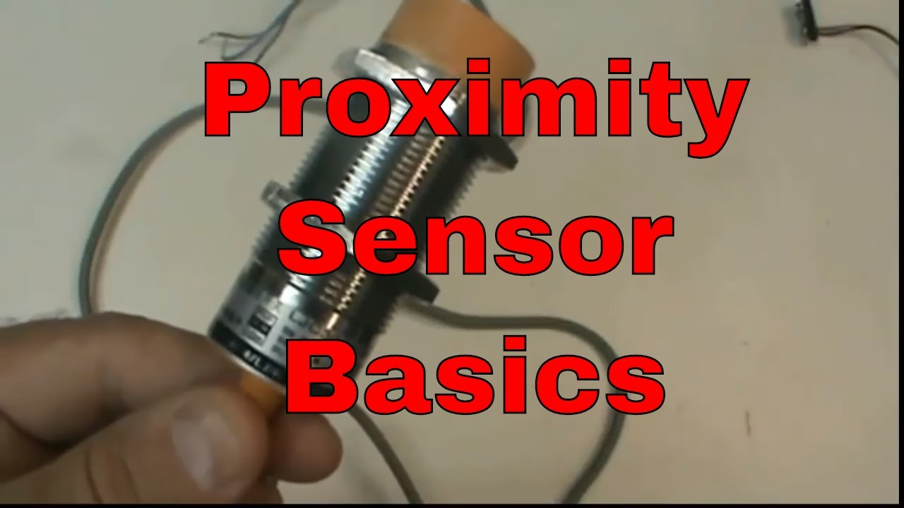Proximity Sensor Basics (PNP, capacitive) - YouTube