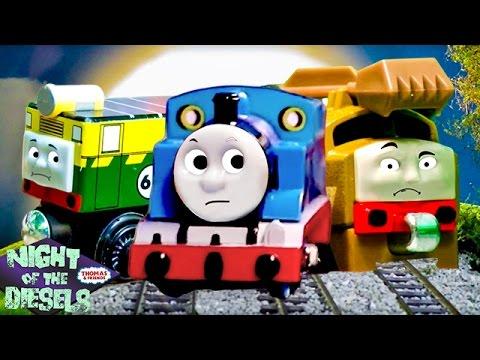 Night of the Diesels Compilation + BONUS Scenes! | Night of the Diesels | Thomas & Friends