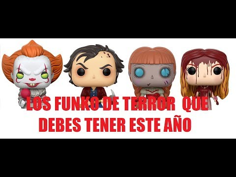 Los Funkos de Terror Que Debes Tener Este Año  IT Annabelle Carrie The Shining Bride of CHucky