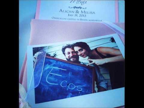 Alican Yücesoy & Melisa Sözen   Düğün