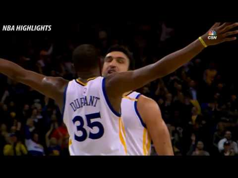 Fantastic Play by ZaZa Pachulia   Warriors vs Heat   January 10, 2017 NBA Season