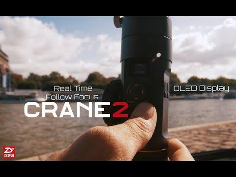 "ZHIYUN CRANE 2 IN ACTION ""CRANE 2 IN PARIS"" GH5 x LAOWA 7.5"