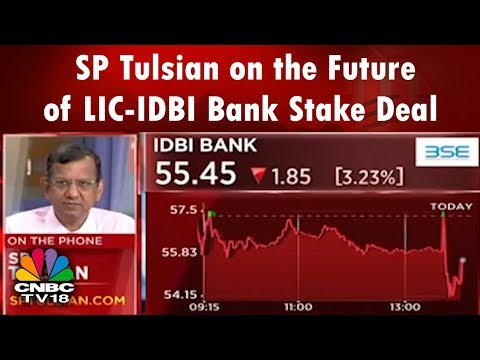 SP Tulsian on the Future of LIC-IDBI Bank Stake Deal | CNBC TV18
