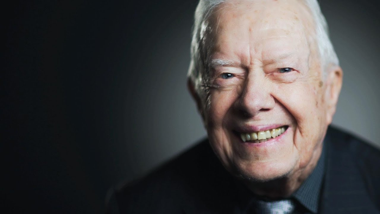 Former president Jimmy Carter is 'at ease with death'