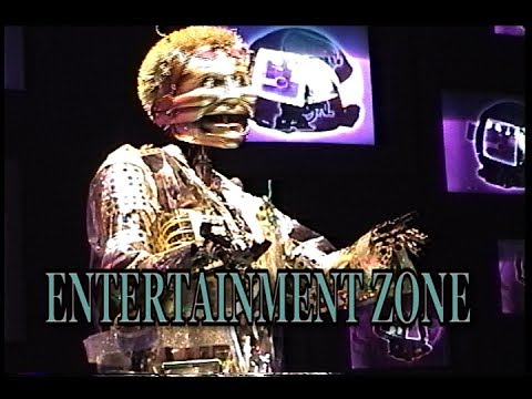 Disneylands Tom Morrow Entertainment Zone At Innoventions Youtube
