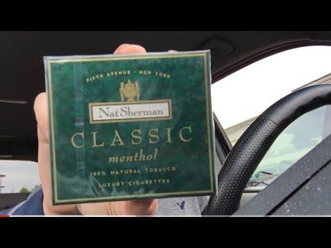 nickthesmoker nat sherman classic menthol youtube