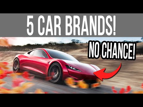 Forza Horizon 5  5 CAR BRANDS that WON&39;T Appear in the Game and Why!