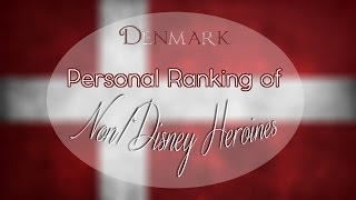 Cover images Personal Ranking of Danish Non/Disney Heroines ♥